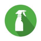 Nettoyage chiffon trottinette
