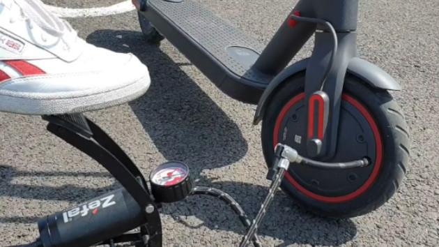 Mettez la bonne pression dans vos pneus