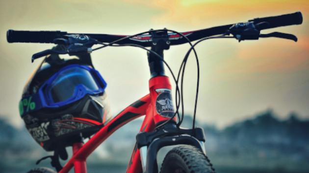 Atelier pour graissage chaine vélo