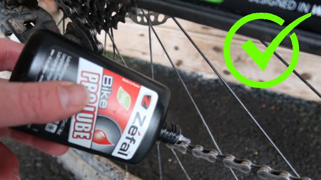Lubrifier chaine vélo, la bonne méthode.