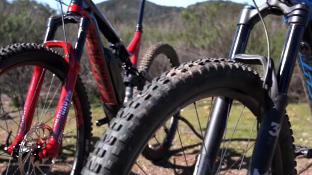 La plupart des marques vendent des pneus vtt électrique avec des flancs plus performants