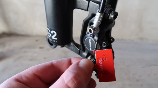 Pour votre sécurité changez vos plaquette de frein de votre VAE