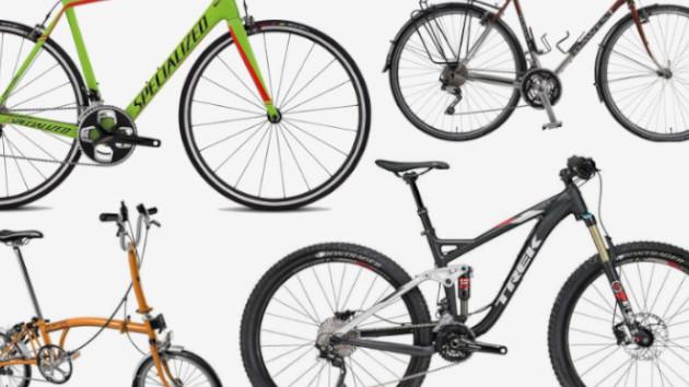 Diffrents types de vélo