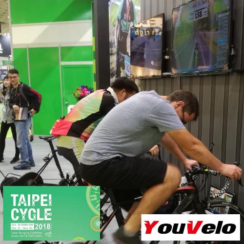 Plaquette vtt - Salon Cycle Tapei 2018
