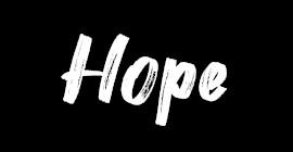 Plaquette Hope