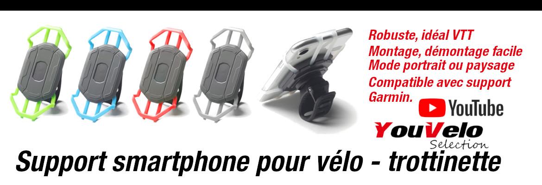 Support téléphone vélo