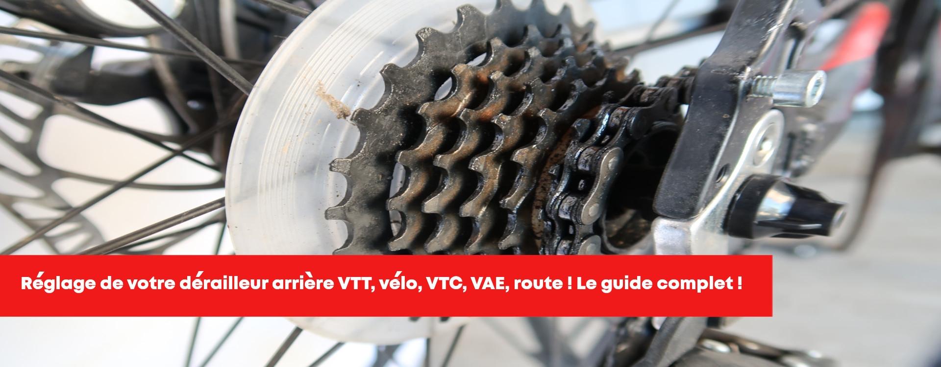 Réglage dérailleur arrière vélo, VTT, route, Shimano, Sram, Ultegra, 105, étape par étape!