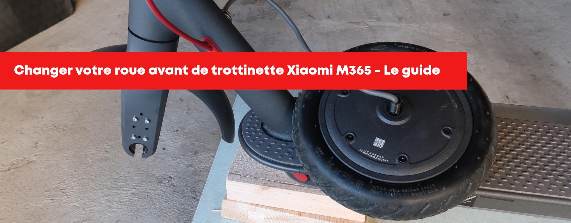 Comment changer votre roue avant sur votre trottinette Xiaomi M365 ?