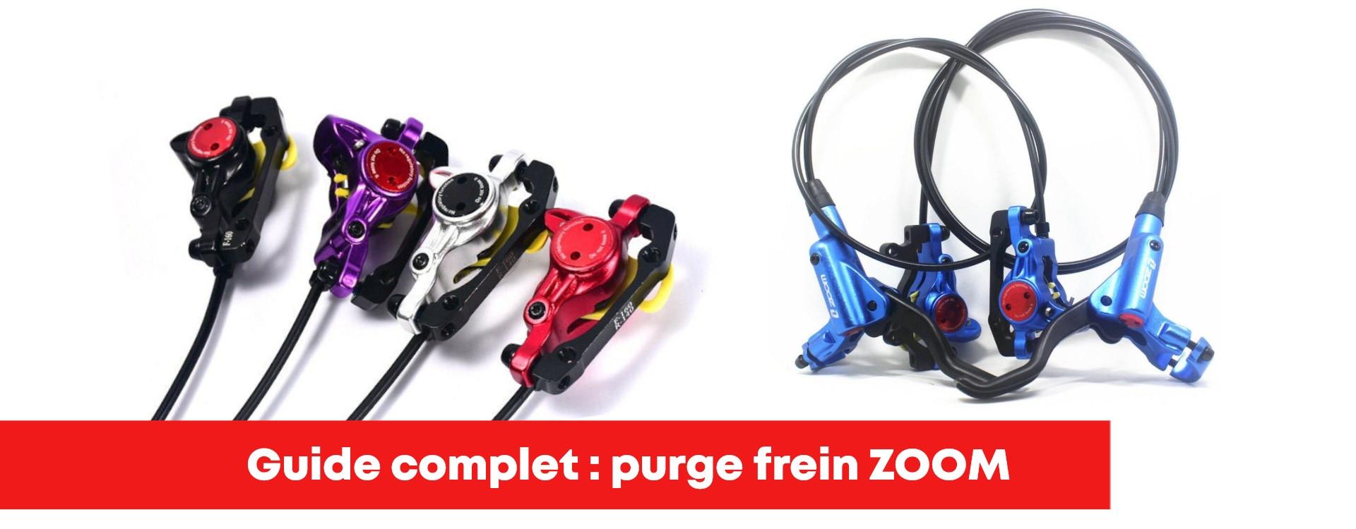 Purge frein ZOOM HB-875 étape par étape !