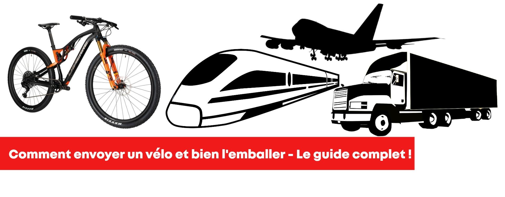 Comment envoyer votre vélo avec Mondial Relay, Laposte, Chronopost, UPS, le guide complet !