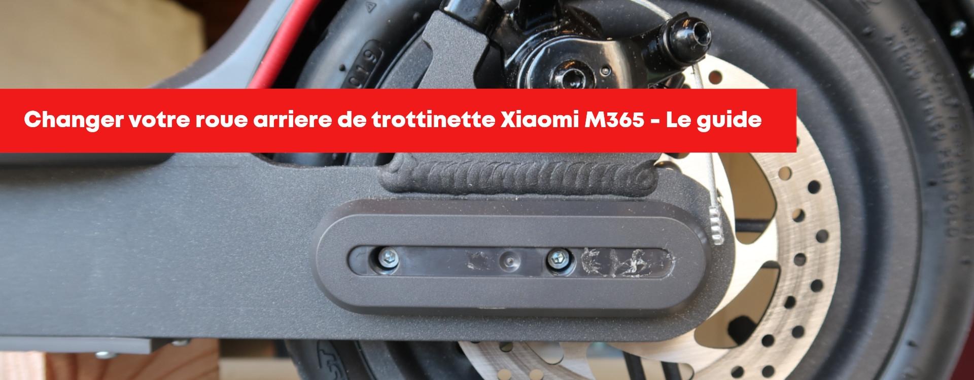 Comment changer votre roue arrière sur votre trottinette Xiaomi M365 ?