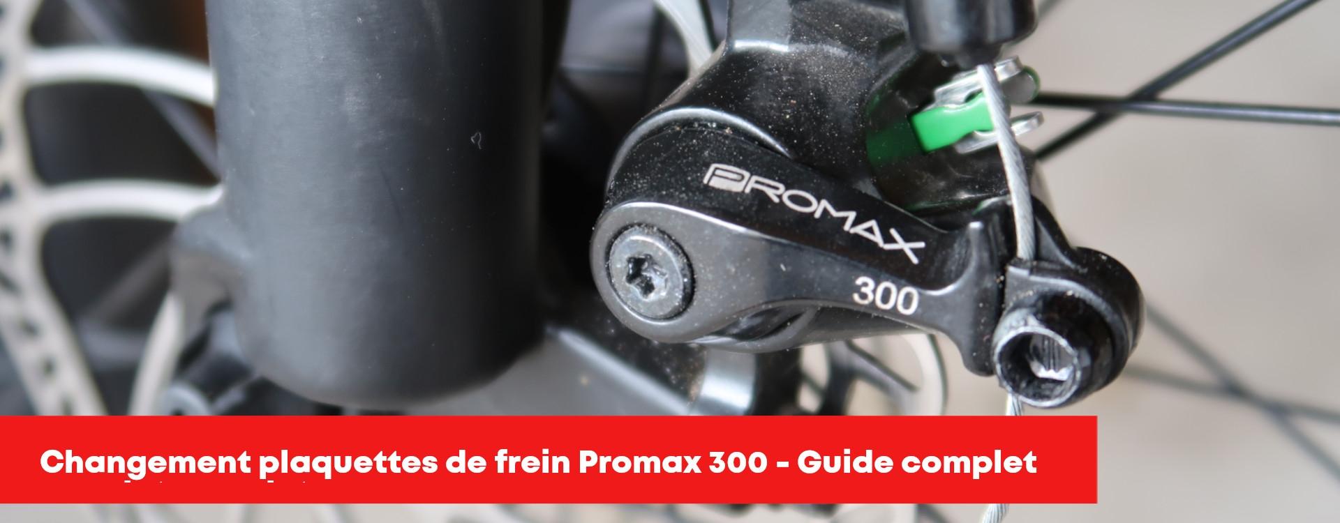 Comment remplacer les plaquettes de frein sur étrier Promax 300