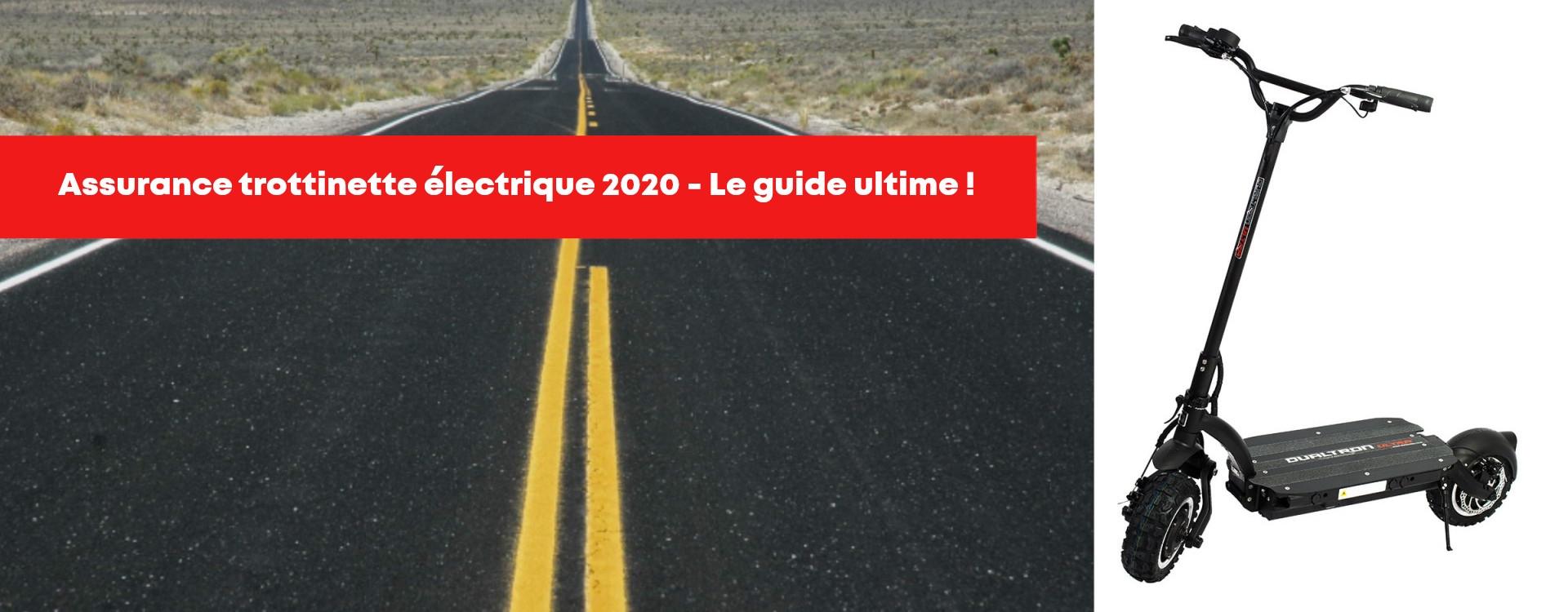 Assurance trottinette électrique obligatoire? Comparatif 2020 en ligne!