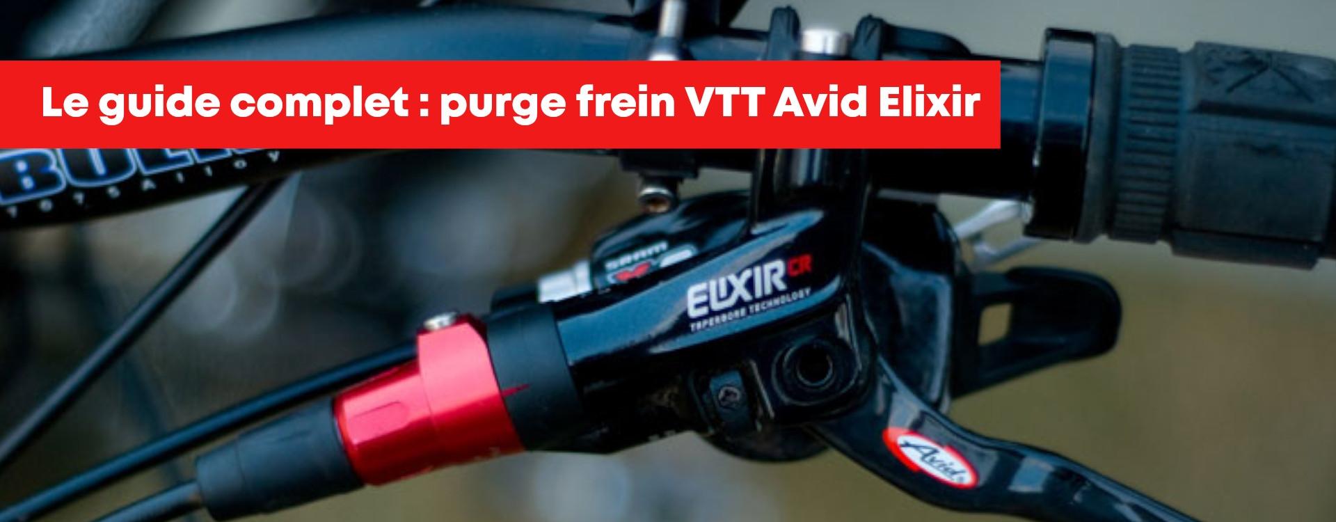 Purge de frein Avid Elixir, Juicy, Code étape par étape !