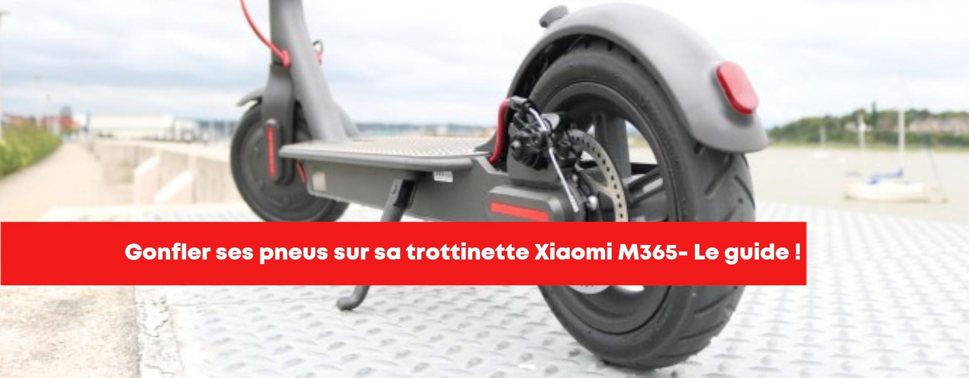 Gonflage des pneus Xiaomi M365 - Notre guide.