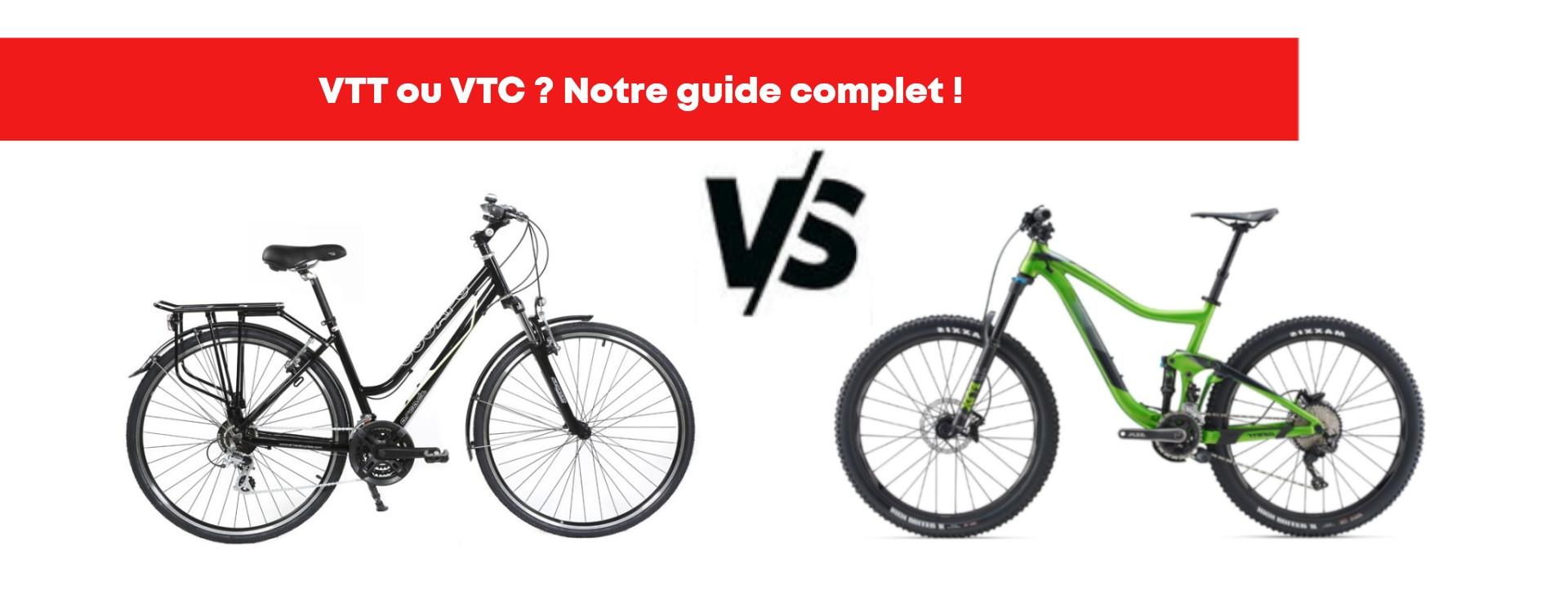 VTT ou VTC ? Notre guide pour bien choisir son vélo !