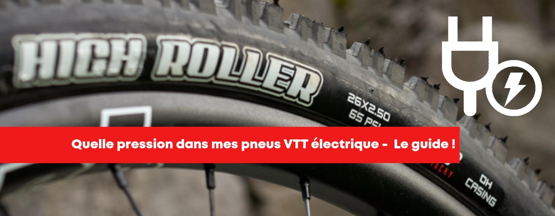Pression pneu VTT électrique - Notre guide