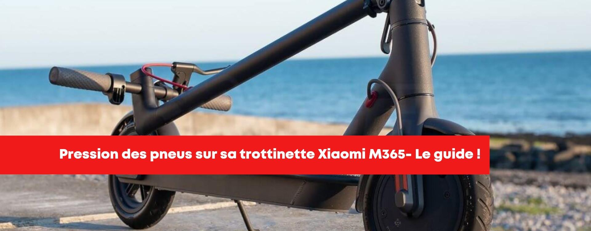 Régler la pression des pneus pour trottinette électrique Xiaomi M365