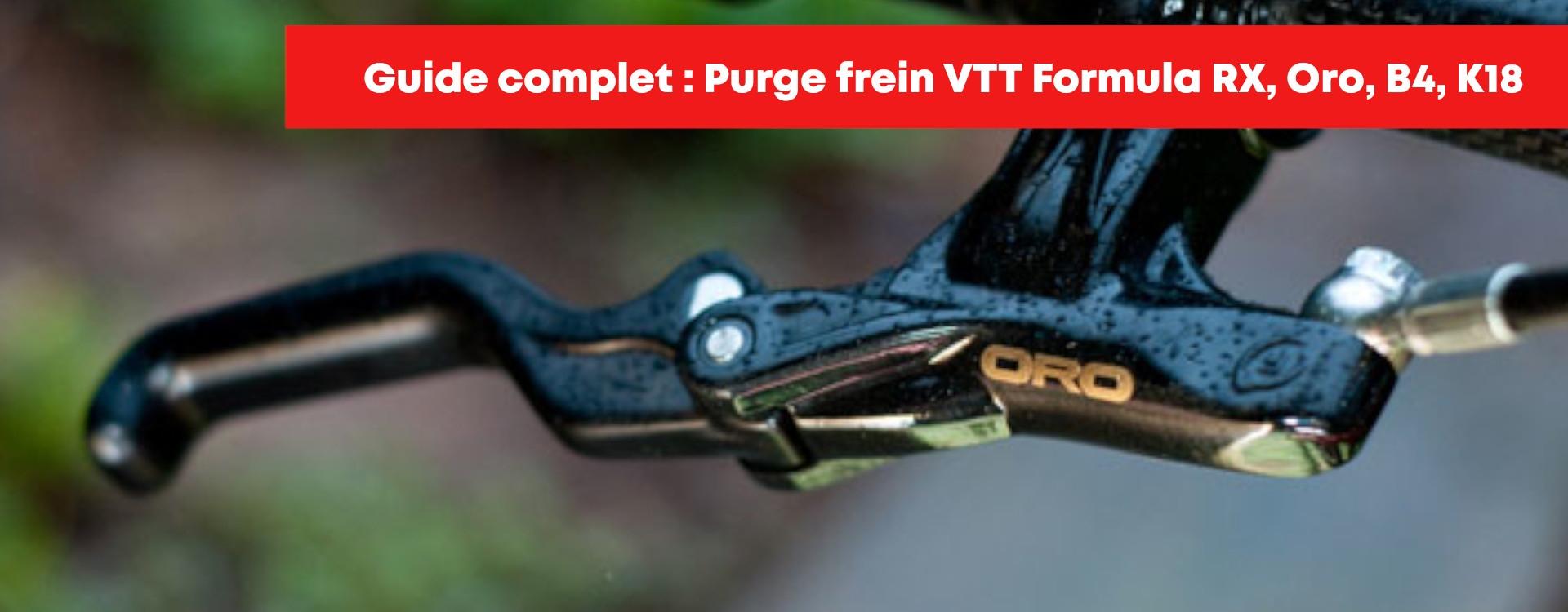 Purge frein Formula RX, ORO, R1, B4, K18, étape par étape !!!