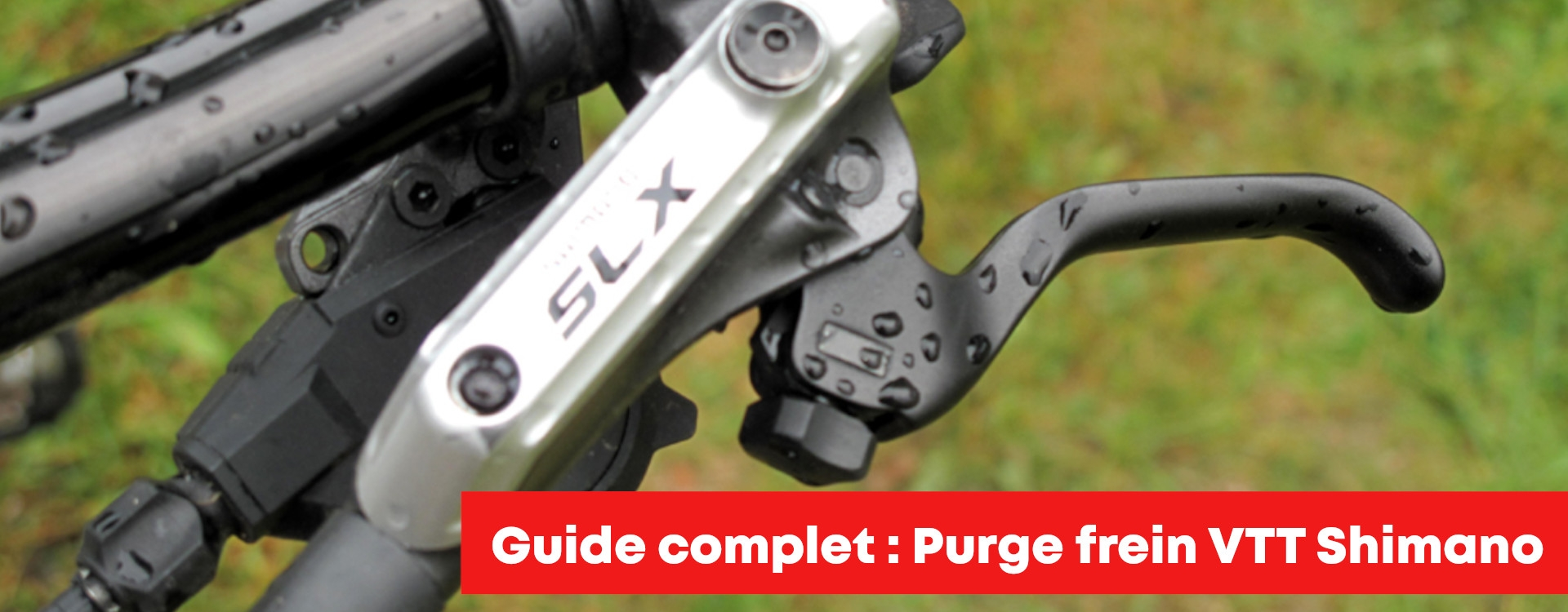 Purge frein VTT Shimano XTR, XT, SLX et Deore étape par étape !