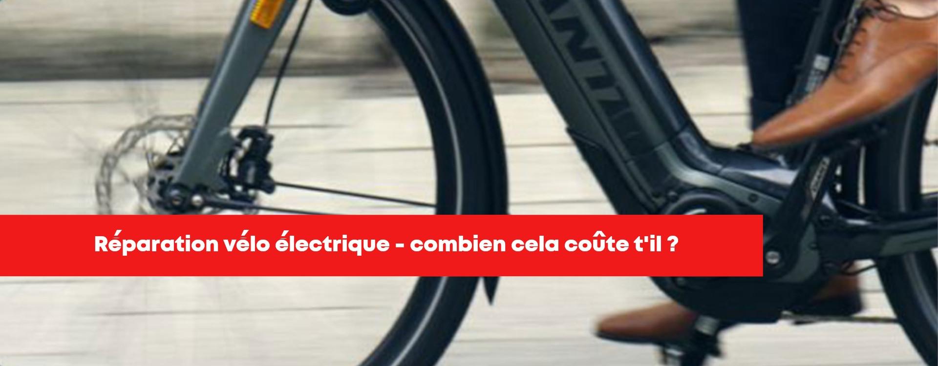 Entretien vélo électrique, les coûts moyens des prestations !