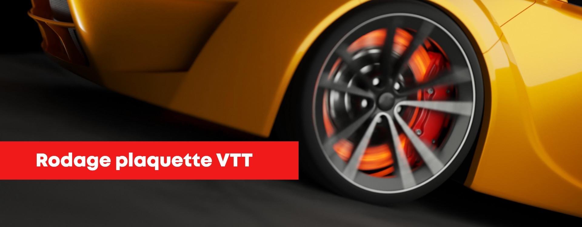 Rodage plaquette VTT pour un freinage plus précis et performant !