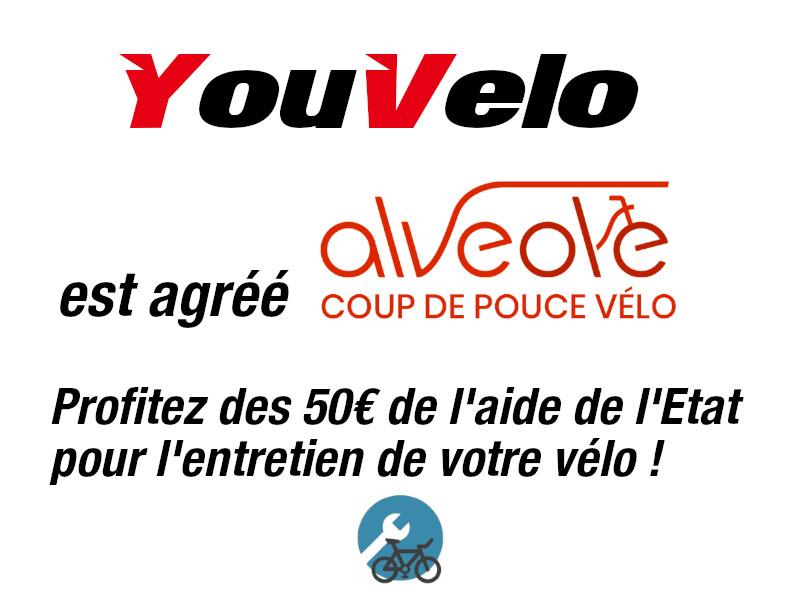 YouVelo est dans la liste coup de pouce vélo